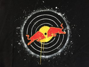 Red Bull Racing Logo Schallplatte